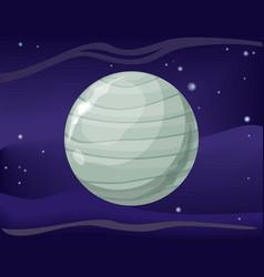 Uranus planet sun system universe vector