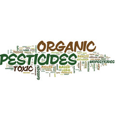 Atreat your garden right with organic pesticides vector