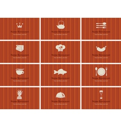 Food and drink vector