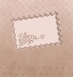 Grunge old fashioned background vector image