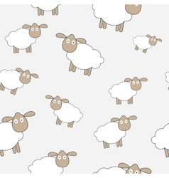 Abstract lamb seamless pattern background vector