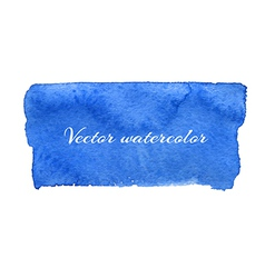 Watercolor billet isolated design element vector