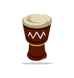 Djembe cartoon vector