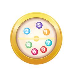 Lotto drum vector