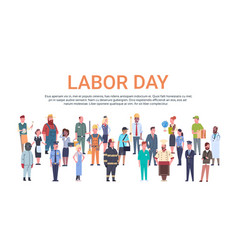 people group different occupation set vector image