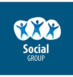 Social group logo vector