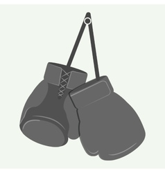 glove boxing sport design vector image