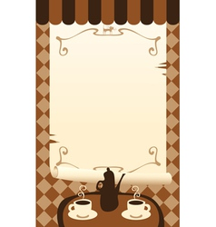 Tea cat vector