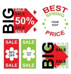 Big sale announcement vector