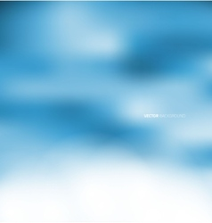 Abstract blur blue background vector image vector image