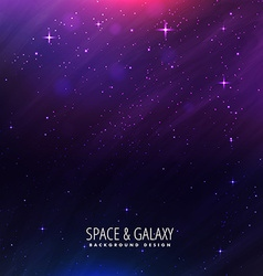 Beautiful universe background vector