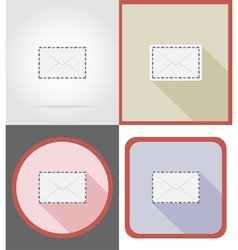 Delivery flat icons 10 vector