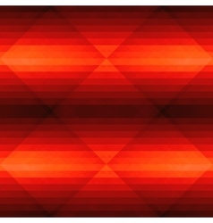 Seamless dark red pattern with triangle vector