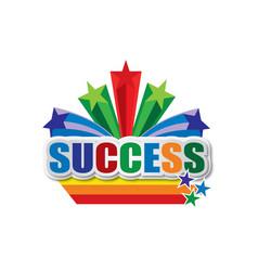 Success design vector