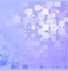 Lilac blue white glowing rounded tiles background vector