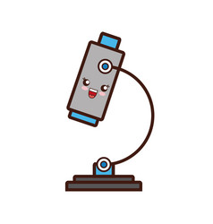 Microscope icon imag vector