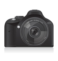 Photo camera 01 vector