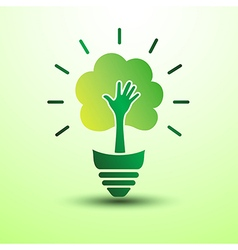 Green idea3 vector image