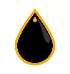 Drop icon oil industry concept graphic vector