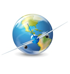 Plane travel vector