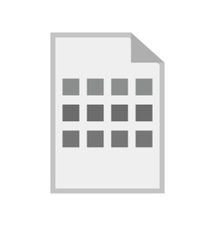 Grid view vector