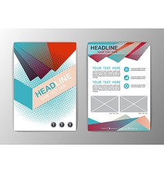 Abstract Background Triangle design Business vector image