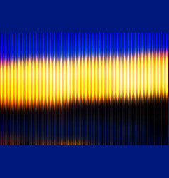 Blue yellow orange black abstract with light vector