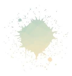 Round ink splatter vector