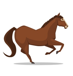 Cartoon horse vector
