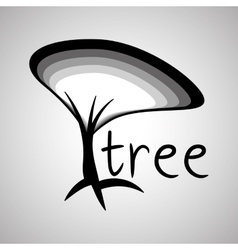 Tree design eco concept natural icon editable vector
