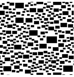 abstract monochrome simple rectangle vector image