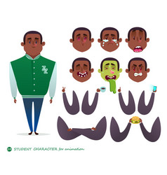 boy character for your scenes vector image vector image