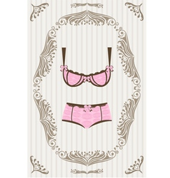 LIngerie vector image vector image