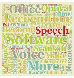 Scansoft is now nuance new name new products text vector