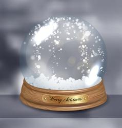 Snowglobe vector image vector image