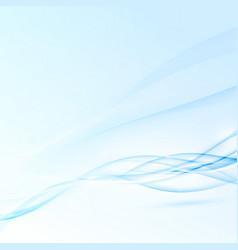Blue abstract modern futuristic speed waves vector