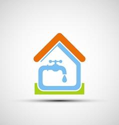Plumbing system stock vector