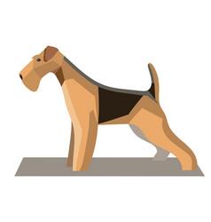 Terrier minimalist image1 vector