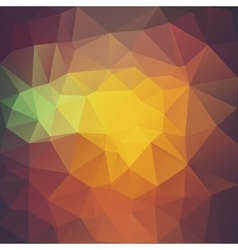 Colored triangle background vector