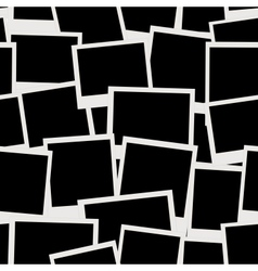 Photo frames seamless pattern for your design vector image