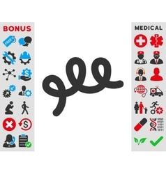 Spiral Bacillus Icon vector image