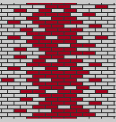 Background of bricks vector