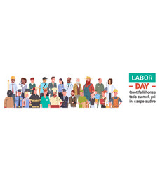 people group different occupation set vector image vector image