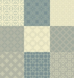Vintage pattern collection vector