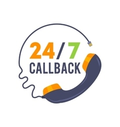 Callback icon for web and mobile vector
