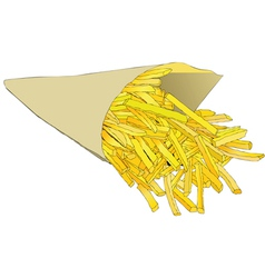 Fries vector image
