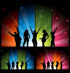 Night Club Life vector image vector image