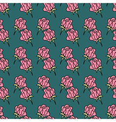 Rose seamless PATTERN1 vector image