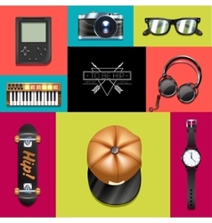 Hipster Design Concept vector image
