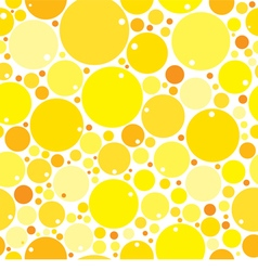 Yellow mix circles background vector